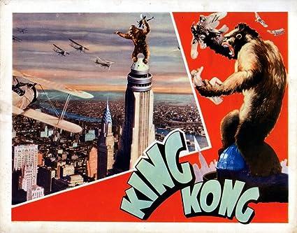 Amazon Com Posterazzi Evcmsdkikoec010h King Kong 1933 Movie