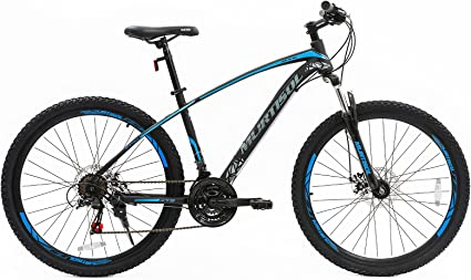 Murtisol Bicicleta de montaña híbrida de 27.5 Pulgadas con Freno ...