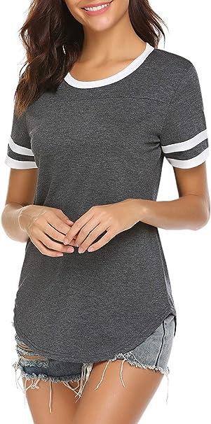 Amazon Coupon Code for Women Summer Short Sleeve Baseball