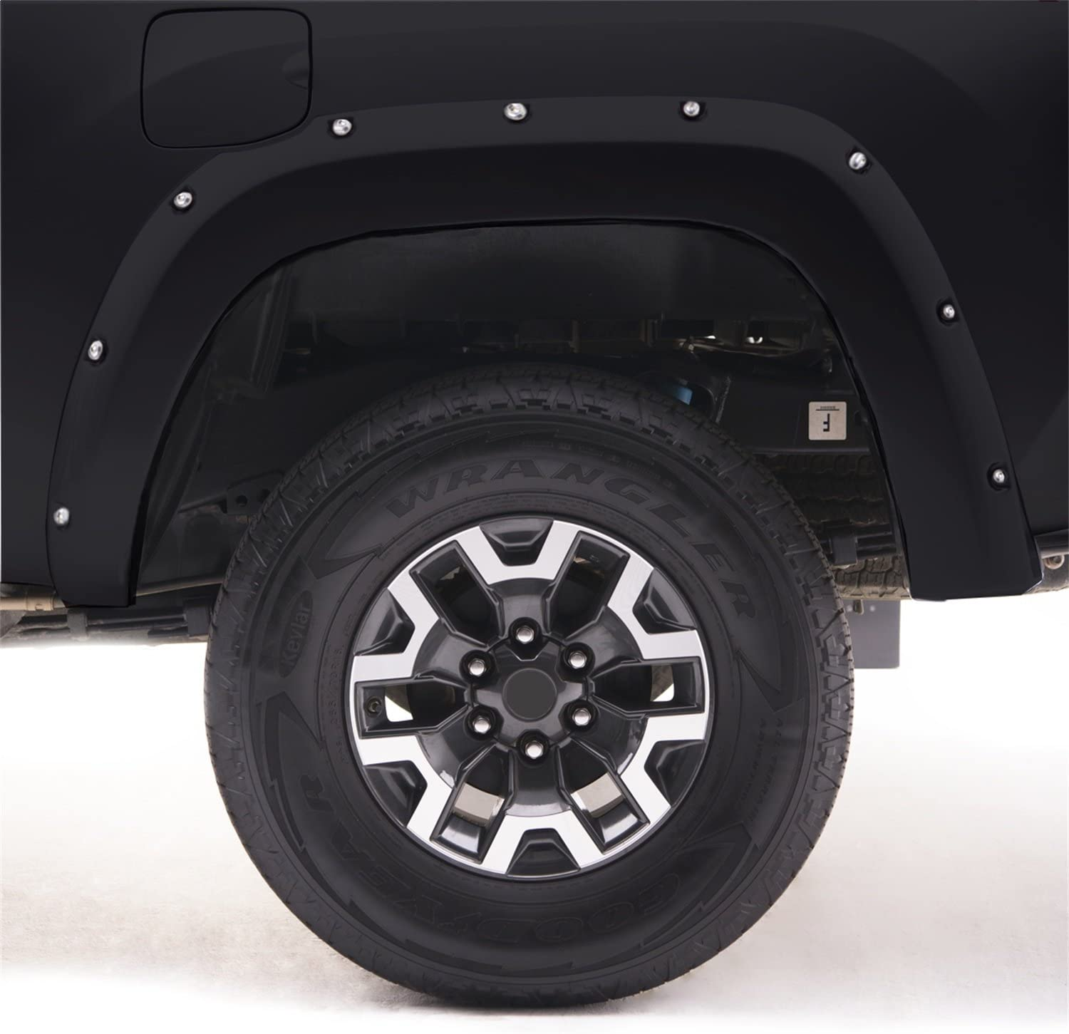 EGR 793914-J7 Bolt-On Look Paint Match Fender Flare Set of 4 No-Drill Front And Rear Magnetic Metallic Bolt-On Look Paint Match Fender Flare Set of 4