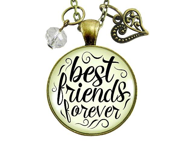 Amazon Com 24 Best Friends Forever Necklace Long Distance Bff