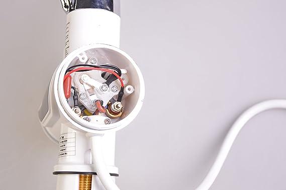 A.b Crew calentador 110 V caliente Calentador de agua Grifo Cocina Calefacción Eléctrica Agua del grifo grifo con pantalla digital LED: Amazon.es: Hogar