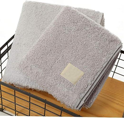 Toalla de algodón, toalla de lavado de cara, toalla de cara lisa ...