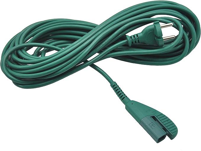 FSProdukte - Cable de corriente para Vorwerk Kobold 135/136 (10 m ...