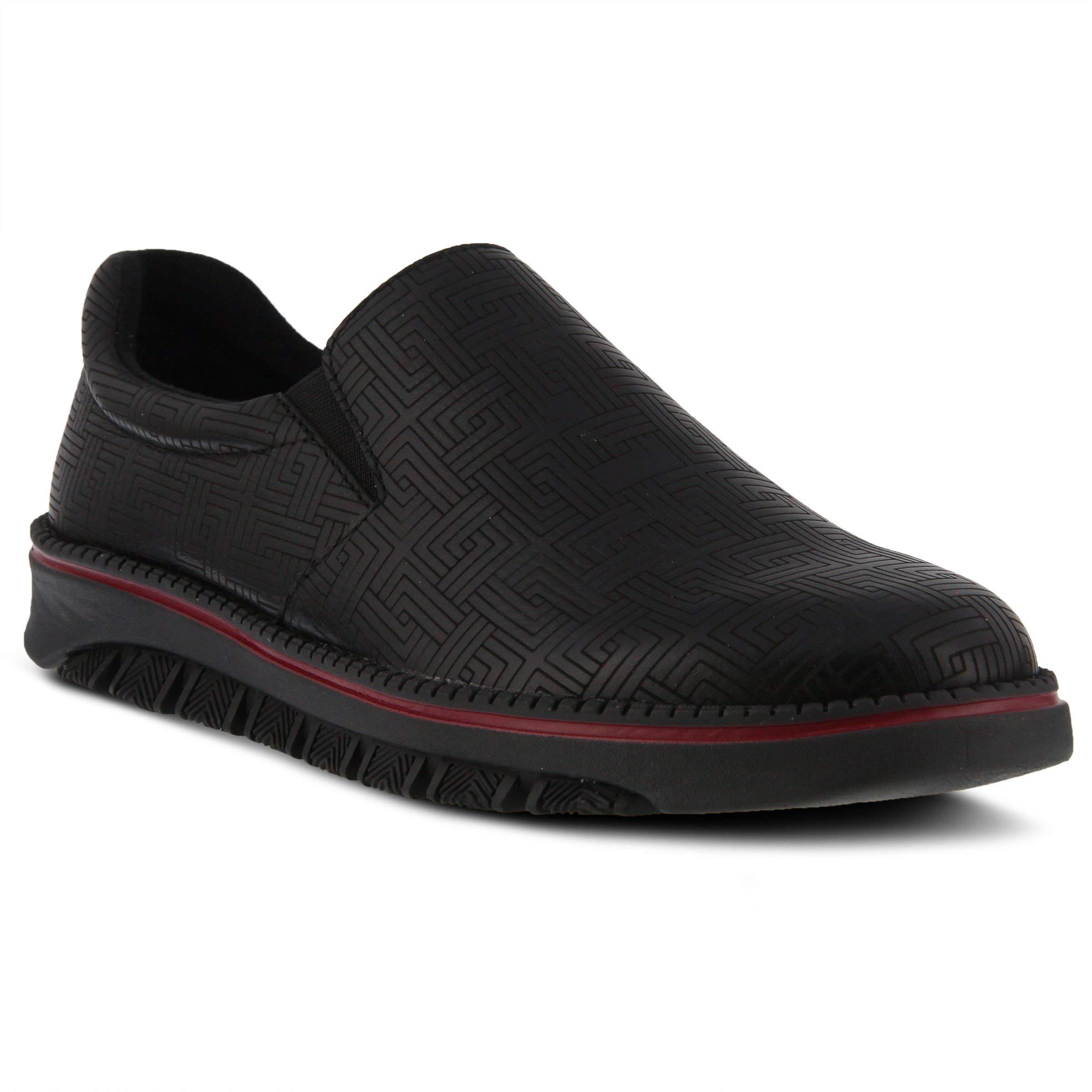 Spring Step Professional Women's Power-Maze Uniform Dress Shoe, Black, 7.5 Medium US by Spring Step Professional