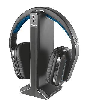 Auriculares inalámbricos Trust Rezon para pantallas de TV de - de color negro: Amazon.es: Informática