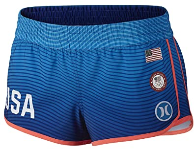 e4569254d0dc1 Amazon.com  Hurley Phantom US Olympic Team Beachrider Boardshorts ...