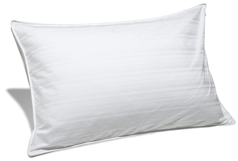 amazon com pinzon hypoallergenic down alternative pillow medium