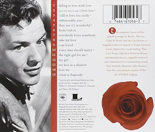 Frank sinatra greatest love songs
