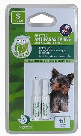 VITALVETO pipeta de insectos Bio pequeño perro controlada edencert - - Juego de 2: Amazon.es: Productos para mascotas