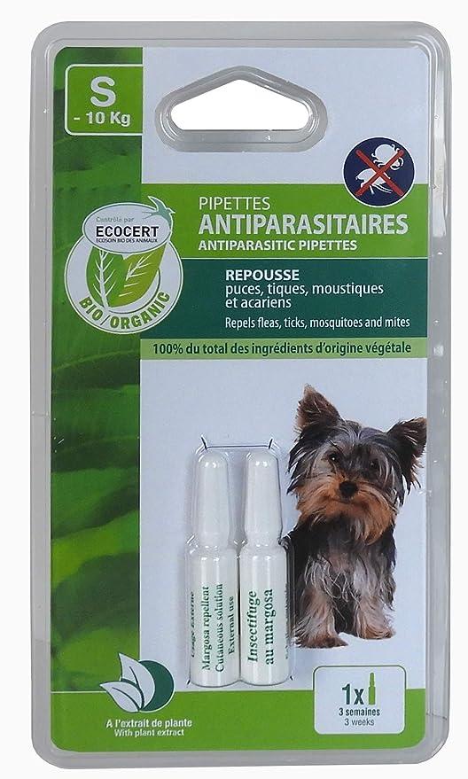 VITALVETO pipeta de Insectos Bio pequeño Perro controlada edencert – – Juego de 2