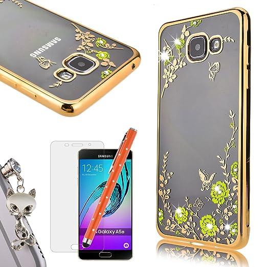 52 opinioni per WeLoveCase Per Samsung Galaxy A5 (2016) Custodia Secret Garden Silicone TPU
