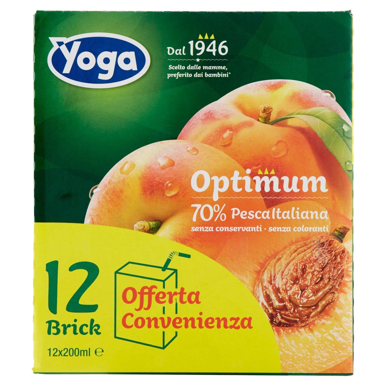 Yoga Nettare di Pesca (Percentuale di Frutta 70%) - 2400 ml
