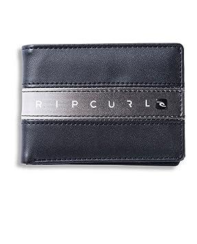 la meilleure attitude 043d3 35c43 Rip Curl Homme Blocus Fin Porte-Monnaie Argent: Amazon.fr ...