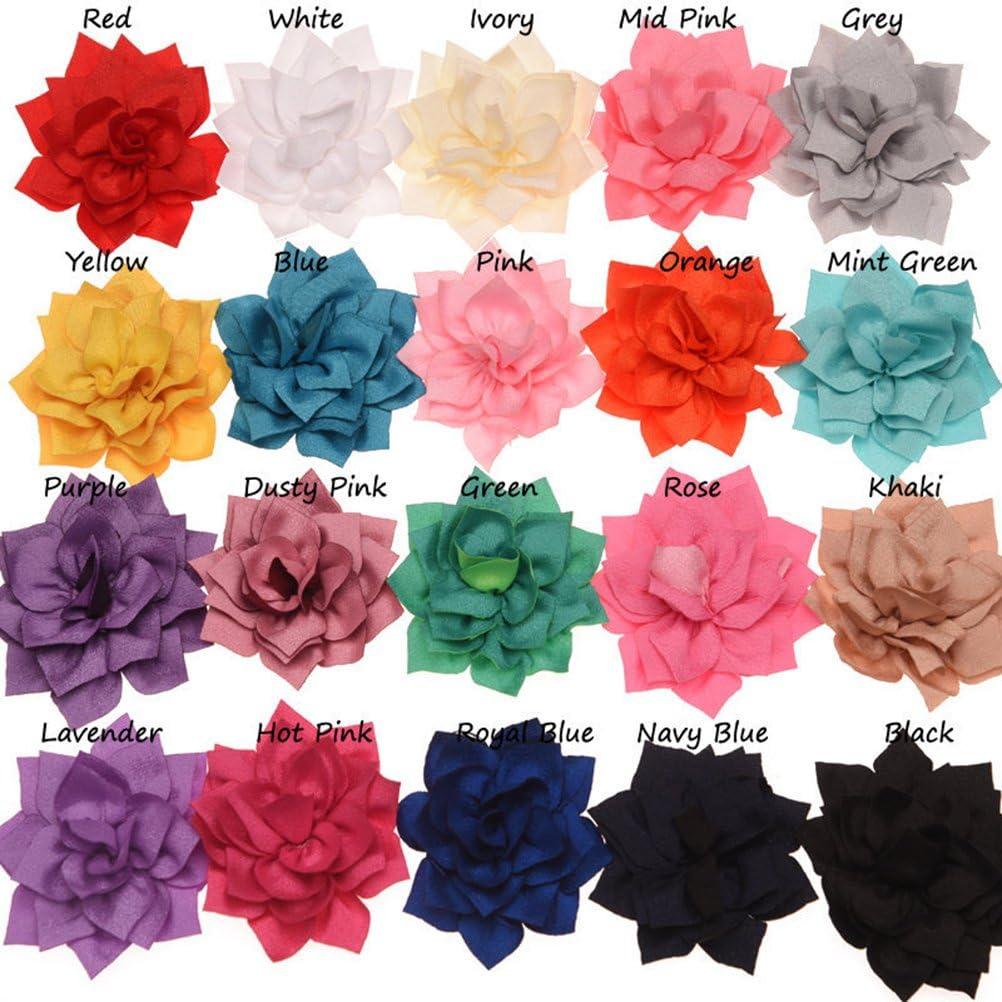 61047.00 cane accessori del Collana della fiore, UKCOCO 13/pezzi Papillon per animali domestici del decorazione fiori di rosa