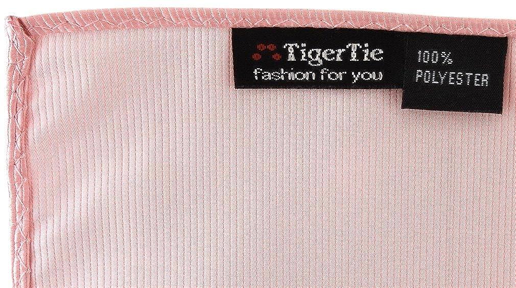 Basic Uomo rosa rosa altrosa Taglia unica TigerTie Fazzoletto