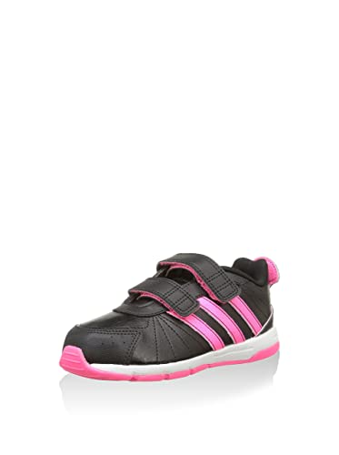 adidas Snice 3 Cf I, Baskets mode bébé fille Noir (Noiess