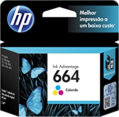 Cartucho original de tinta tricolor HP 664 Advantage (F6V28AL)