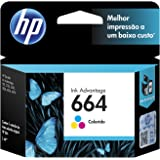 HP Cartucho de Tinta Tricolor 664 Advantage (F6V28AB)