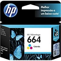 HP Cartucho Original de Tinta Tricolor 664 Advantage (F6V28AL)