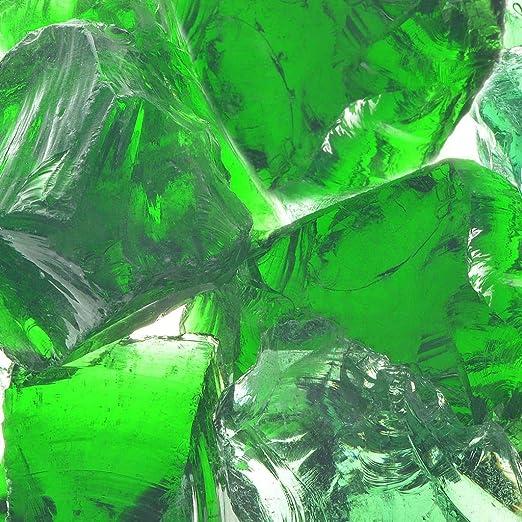 vidaXL Rocas para Muro de Gaviones de Jardín de Vidrio Verde 60-120 mm 25 kg: Amazon.es: Jardín
