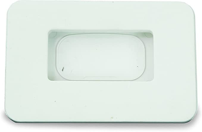 TruePower 30W 15 Amp Weatherproof Receptacle Cover for RV Trailer RV Outdoor Electrical Outlet White