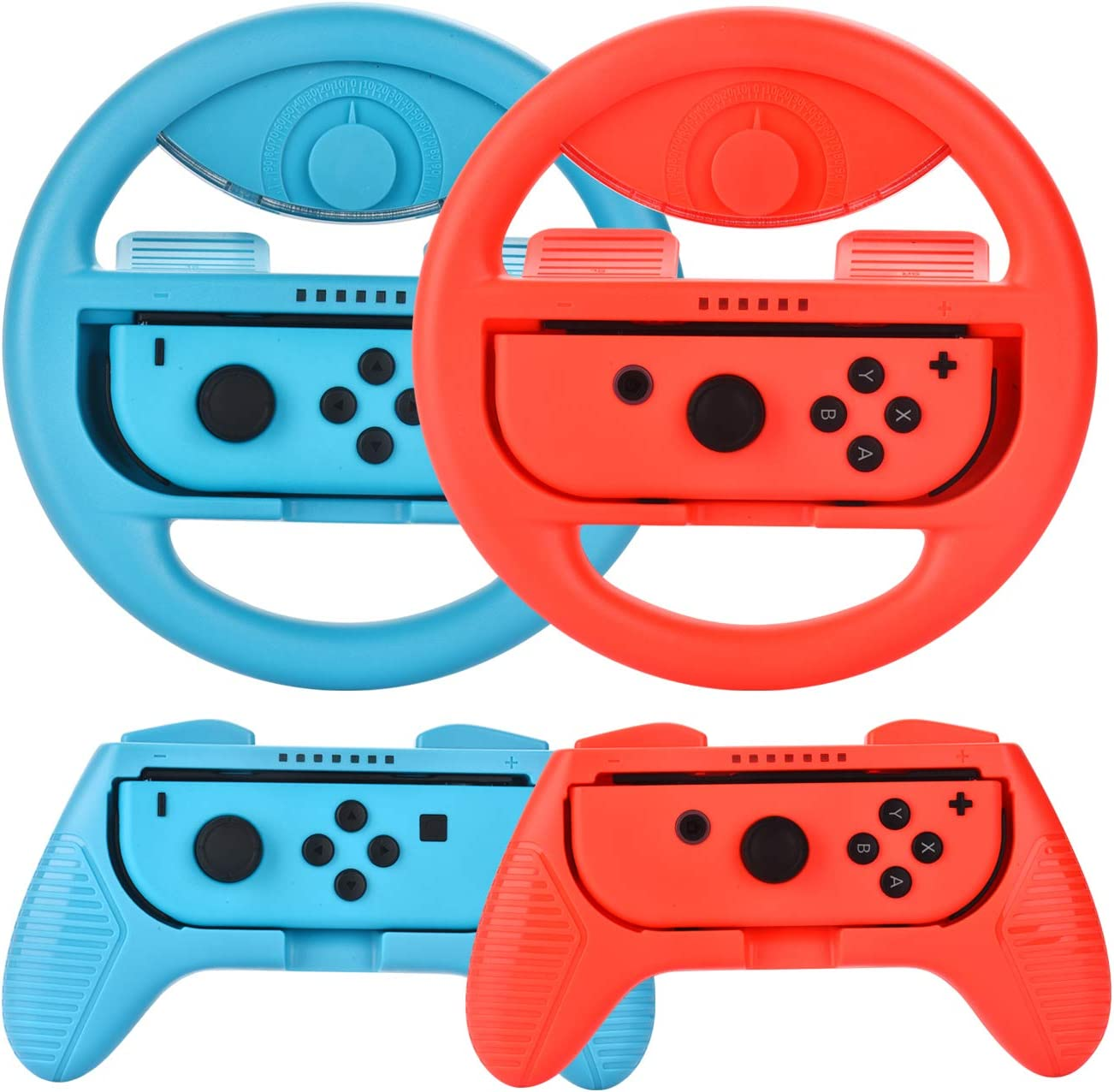 Nintendo Switch and Steering Wheel Controller
