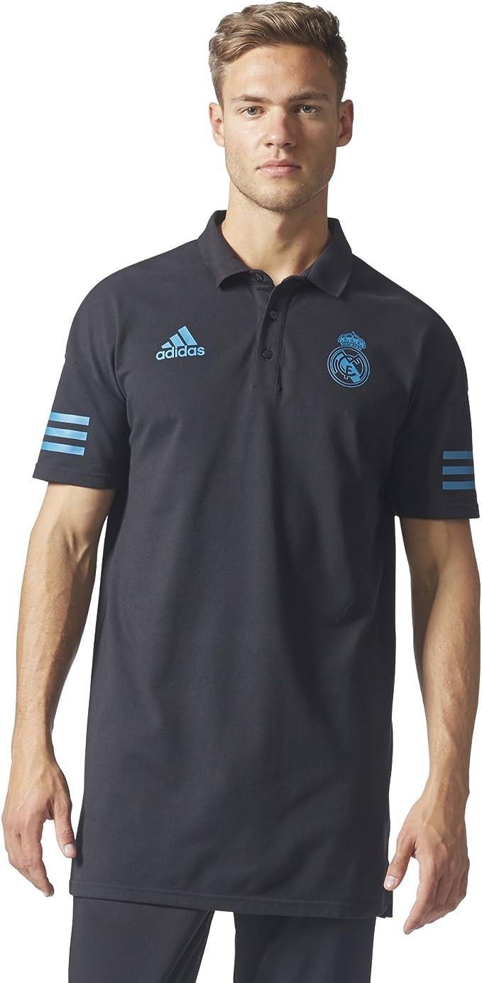 adidas EU Polo Línea Real Madrid FC, Hombre: Amazon.es: Ropa y ...