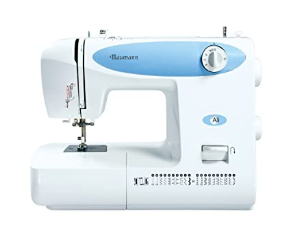 Naumann 83A0 - Máquina de coser con accesorios, color azul