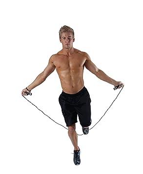 Spirit TCR Adjustable Jump Rope Silver//Ash