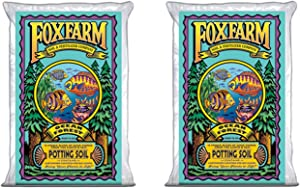 Fox Farm FoxFarmOcean2 Foxfarm FX14000 1.5 Ocean Forest Garden Potting Soil Bags 6.3-6.8 pH | Total 3 Cubic Ft, Brown
