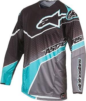 Alpinestars Jersey Techstar Venom Schwarz Dark Grey Teal ... d38bcc169