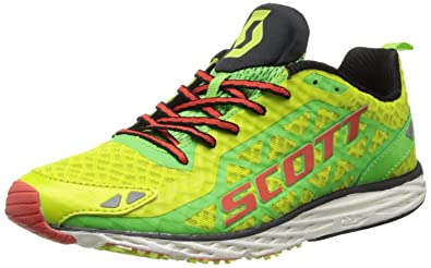 c925b0f33fb4e Scott Running Men's Race Rocker 2.0 Mens Running Shoe,Green/Red,11.5 D US