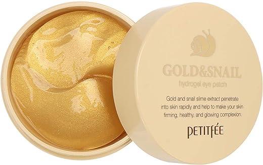 لصاقة عين من بيتيتفي، هيدروجيل من الذهب وخلاصة الحلزون، 60 لصاقة كل منها بوزن 1,4 غرام