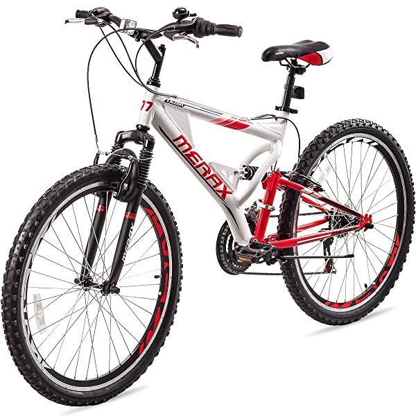 Merax Falcon Full Suspension Mountain Bike