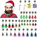 31-Piece Makone Light Up Beard Ornaments Set