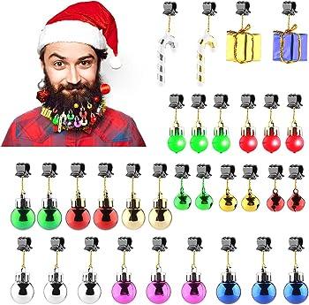 31-Pieces Makone Light Up Beard Ornaments Set