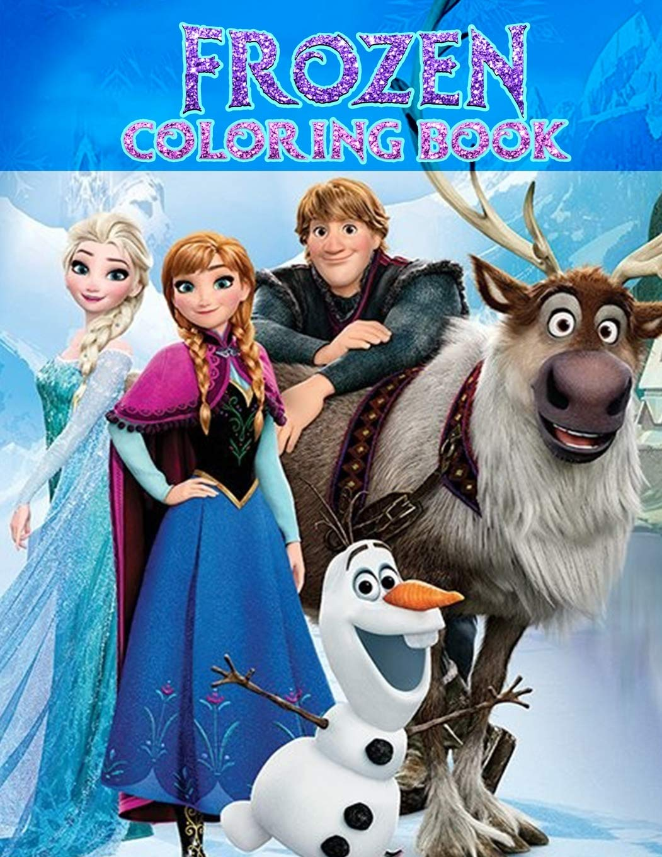 Frozen Coloring Book Magic Ink Coloring Book Art Press Creative 9781675540817 Amazon Com Books