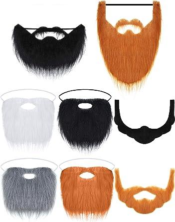 3 Colors Basic Character Mustache Theater Cosplay Halloween School