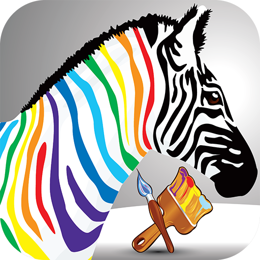 Paint My Little Zebra