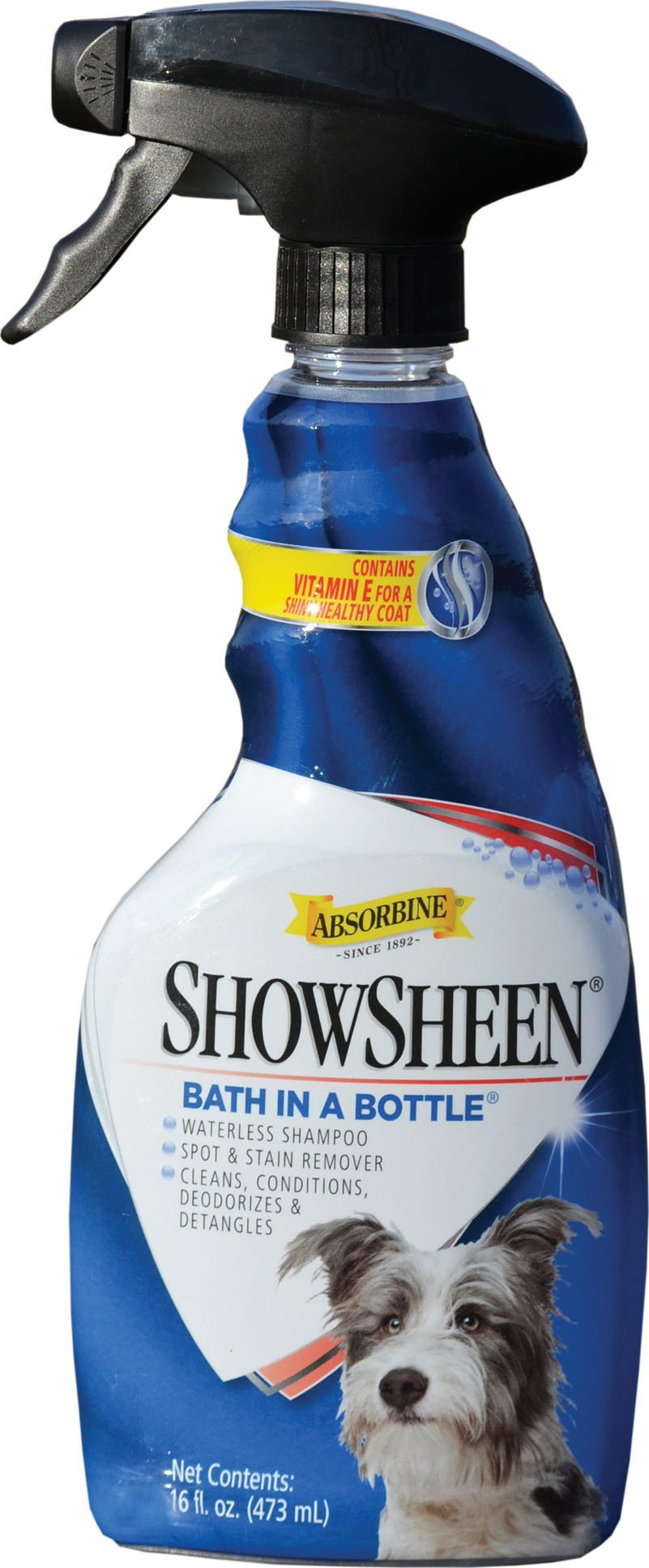 Absorbine ShowSheen Bath in a Bottle for Dogs 16oz