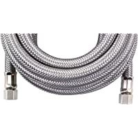 Certified Appliance Accessories IM180SS Braided Stainless Steel Ice Maker Connector, 15-Foot