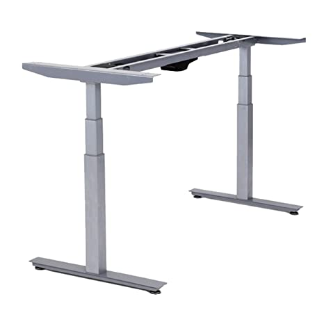 Phenomenal Rise Up Electric Adjustable Height Width Standing Desk Legs Frame Base Ergonomic Motorized Sit To Stand Up Home Commercial Office Table Dual 2 Download Free Architecture Designs Embacsunscenecom