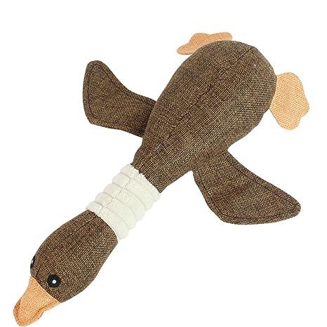 UEETEK Mascota de mascota Masticar perros de juguete Gatos juguetes Mordedura lindo sonidos juguetes Diseño de