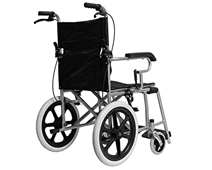 Carrito plegable para discapacitados, silla de ruedas de empuje ...