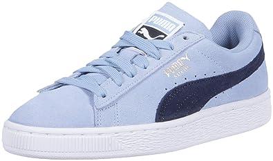 b91ca4592414 PUMA Women s Suede Classic Sneaker cerulean-peacoat 5.5 ...