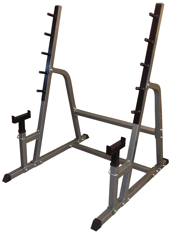 Pro de musculación, caminar Squat Rack/media jaula/Squat Stands ...