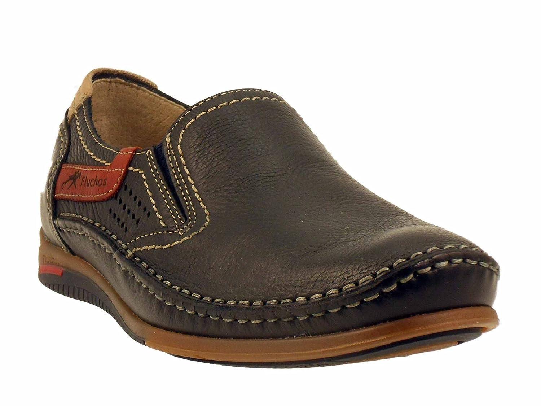 Fluchos - Mocasines de Otra Piel Hombre: Amazon.es: Zapatos y complementos