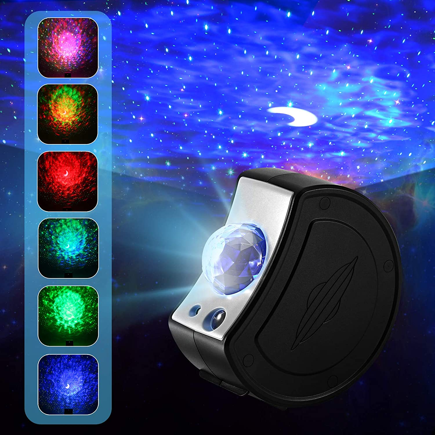 Star Projector,Nebula Light Galaxy Projector Light for Kids Adults Bedroom Night Light, Party Mood Ambiance