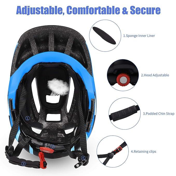 Amazon.com: Westgirl - Casco de bicicleta para niños de 3 a ...